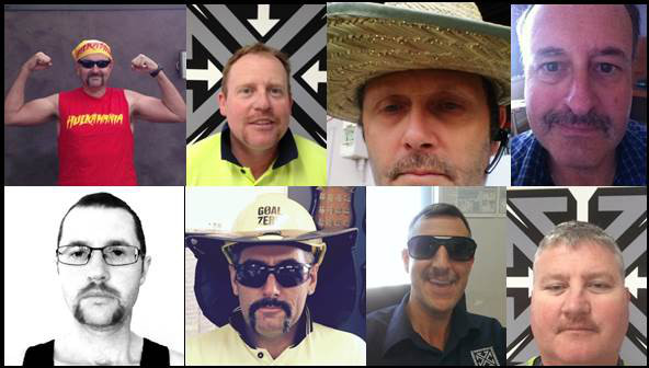 Movember Collage